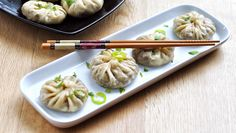 Mushroom Momo : Delicious steamed dumplings with mushroom filling.. The goodness of mushrooms.. their nice meaty flavor stuffed in a steamed thin flour bun.. Here's the Mushroom momo's.. A yummy appetizer to start your meal - Kitchen Chemistry