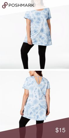 48fad683a58 Ideology Plus Size Printed Tunic 2X Workout Ideology Plus Size Printed  Tunic 2X Workout Ideology Tops