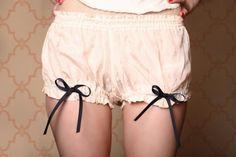 Petticoat undies!! For use as pajamas :)