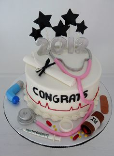 Nurse grad. by Karen's kakes, via Flickr