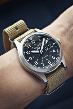 Field Watches, Seiko 5 Sports, Mechanical Watch, Black Nylons, Military Fashion, Omega Watch, Accessories, Style, Swag