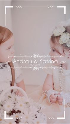 Reach your #customers, #friends and #family with simple, professional #content for #weddings to attract traffic to your #business. This video is a #creative, fun way of celebrating your #wedding day. Custom, animated wedding titles with a page boy and flower girl photographed in the background. This simple video animation can be created in various formats and shared to all social media platforms such as Facebook, Instagram, Twitter and LinkedIn, and also shared to Instagram and Facebook… Wedding Titles, Wedding Film, Wedding Day, Pre Wedding Videos, Wedding Highlights Video, Social Media Page Design, Wedding Photography And Videography, Digital Signage, Instagram Story Ideas