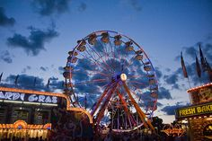 The Indiana State Fair Midway