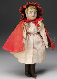 RED RIDING HOOD DOLL.