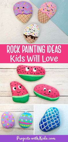 Rock Painting Patterns, Rock Painting Ideas Easy, Rock Painting Designs, Rock Painting Ideas For Kids, Painting Crafts For Kids, Rock Painting Supplies, Art And Craft, Stone Art Painting, Pebble Painting