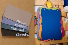 On The Way: Vintage Chalkboards. LOVING this. Fun way to do grocery lists or leave reminders around the house. Vintage Chalkboard, Grocery Lists, Chalkboards, Cape Town, Neutral, Rooms, Classic, Kitchen, Fun