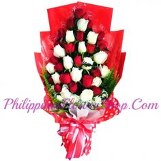 Show her your love with this wonderful bouquet of two dozen red roses and white roses beautifully wrapped with sinamay, that will certainly make her feel like royalty. Send Flowers, Fresh Flowers, Online Bouquet, Dozen Red Roses, Online Flower Shop, Heart Shaped Chocolate, Red And White Roses, Gift Cake, Chocolate Bouquet