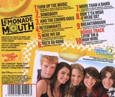 Lemonade Mouth! - I'm a little obsessed with the songs from the movie...