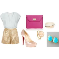 Pretty Dressy Outfit, created by ashhendricks on Polyvore