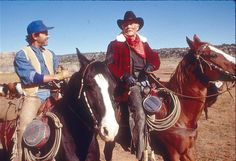Did you see how leathery he was? He was like a saddlebag with eyes! (City Slickers)