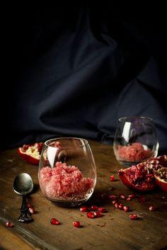 Pomegranate Granita