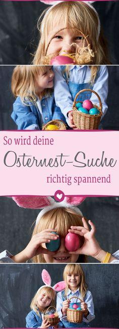 4 #tipps für eine aufregende Osternest-Suche #ostern #kinder Diy Home Crafts, Searching, Crafts, Tips