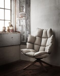 The Husk chair by Patricia Urquiola for B&B Italia is the perfect chair for comfort and style #contemporary #home #interiors