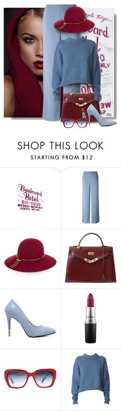 """""""Style inspirations - Color Combo"""" by fashion-architect-style ❤ liked on Polyvore featuring Lanvin, Hermès, MAC Cosmetics, Chanel and TIBI"""