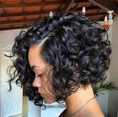 Synthetic Lace Front Curly Bob Protective Hair Styles In 2019 25 Short Bob Hairstyles For Black Women Short Curly Hair Short Bob Hairstyles For Black Women Shor Curly Weave Styles, Curly Hair Styles, Natural Hair Styles, Short Weave, Short Styles, Bob Styles, Curly Bob Hairstyles, Short Curly Hair, Black Hairstyles