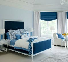 Color themes Bed.