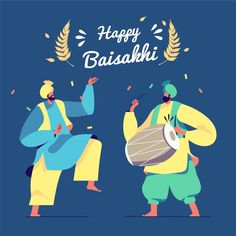 """""""Let's hope this harvest season brings the best for the world. Happy Baisakhi to all"""" - - - Happy Baisakhi, Are You Happy, Graphic Design Templates, Modern Graphic Design, Lohri Greetings, Baisakhi Festival, Happy Lohri, Festival Background, Felt Roses"""