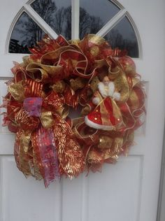 Christmas wreath for me