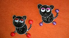 GATOS Projects For Kids, Crafts For Kids, Bottle Cap Art, Coffee Pods, Christmas Crafts, Accessories, Wordpress, Embellishments, Craft