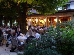 côté terrasse restaurant löwen à münstertal | Flickr: partage de photos!