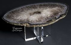 Home Decoration Accessories Ltd Diy Crystals, Crystals And Gemstones, Natural Crystals, Stones And Crystals, Crystal Furniture, Geode Decor, Glam House, Peacock Decor, Resin Table