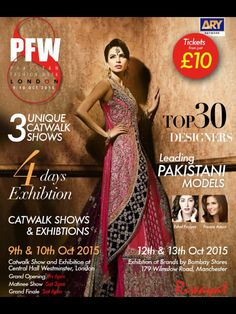 PFW8 - Deeya Jewellery are very excited about our participation at #PFW8 this weekend on Friday 9th and Saturday 10th October 2015 in central London where we will be showcasing our latest collection of bridal and formal jewels in an event which will showcase stunning designs. Lots of wedding inspiration. I will also be there both days for consultations if you wish to discuss your jewellery for your big day Contact Deeya Jewellery by calling, Whatsapp or viber to purchase or enquire on… Pakistani Models, Indian Bridal Fashion, Bridal And Formal, Bridal Style, Big Day, Catwalk, Fashion Show, October, Wedding Inspiration