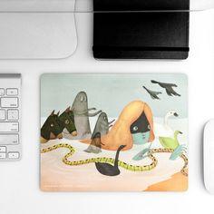 Andrea Wan Mousepad