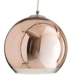 Κρεμαστό Γυάλινο Φωτιστικό Σε Σφαιρικό Σχήμα Με Άνοιγμα Στο Κάτω Μέρος . Διαφάνεια Στο Τελείωμα Του Γυαλιού Και...