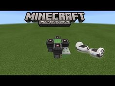 HOW TO MAKE A HOVERBOARD IN MINECRAFT PE 0.15.1 | MCPE 0.15.1 REDSTONE CREATION (NO MODS) - YouTube