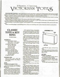 Victorian Totes Pg 3