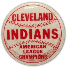 1954 Vintage Cleveland Indians Pin