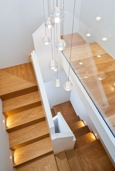 contemporary wood staircase - Пошук Google