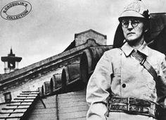 Dmitri Shostakovich como bombero voluntario durante en asedio de Leningrado, en 1941.