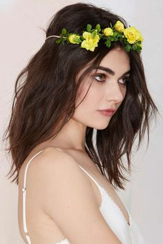 Gardenhead Remember Me Floral Crown - Perfect with a flowy maxi dress, gladiator sandals, and that outdoor festival you've been looking forward to.
