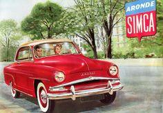 Simca Aronde Grand Large.  2 door hardtop.  Grandparents had one of these.