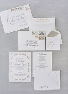 #paper-goods, #stationery  Photography: Jose Villa Photography - josevillaphoto.com Event and Floral Design: Kathleen Deery Design - kathleendeerydesign.com Planning: Laurie Arons Special Events - lauriearons.com/  Read More: http://stylemepretty.com/2013/07/25/kathleen-deerys-san-francisco-wedding-from-jose-villa/