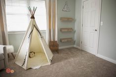 Teepee in the nurser