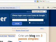 Como Criar um Blog no Blogger - BlogSpot