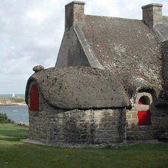 Maison bretonne sur l'île de Bréhat