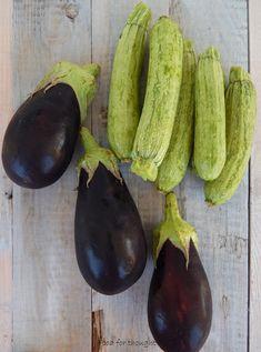 Food for thought: Κολοκυθάκια και μελιτζάνες πανέ στο φούρνο Bake Zucchini, Eggplant, Recipies, Food And Drink, Baking, Vegetables, Recipes, Bakken, Eggplants