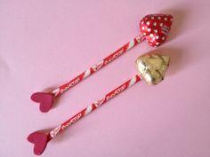 Valentine Pencil Bow and Arrow   Munchkins and Mayhem