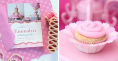 Adorable Pretty in Pink 1st Birthday Party