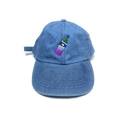 1st Class Dirty Soda Cap in Denim featuring polyvore, men's fashion, men's accessories, men's hats, denim, mens caps and hats and mens denim hats