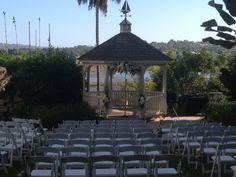 The Gazebo Makes For A Beautiful Outdoor Wedding Newportbeach Marriott Newport Beach