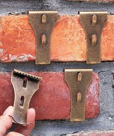Patio Porch Hang Things On Brick Without Drilling Holes
