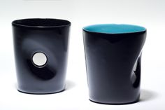 cups with holes in the middle