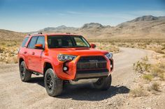Petersen's & Off-Road names the 2015 Toyota TRD Pro their of the Year! Find out why this TRD Pro came out on top in our annual test! Toyota Trd Pro, 2017 Toyota 4runner, Toyota Rav4 Hybrid, Toyota 4runner Trd, Toyota Trucks, Toyota Corolla, Toyota Vehicles, 4runner 2015, Toyota Tundra