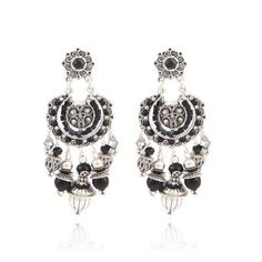 #gasbijoux #bijoux #mode #fashion #jewellery #paris #marseille #sainttropez #milan #newyork #earrings #silver #white #black
