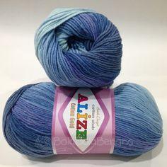 ALIZE COTTON GOLD BATIK 3299, Price: 105.000,-/gulung, Bahan: 55% Cotton - 45% Acrylic, Berat/Panjang: 100gr/330m, Knitting Needles: 3,5mm – 5mm, Crochet Hook: 2mm - 4mm