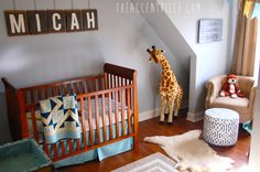 Project Nursery - Vintage Boy Nursery